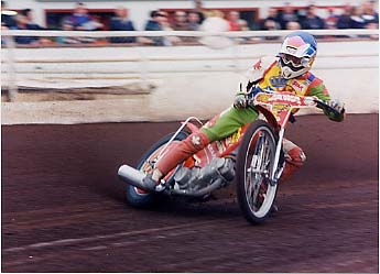 Stefano in action - Shawfield 1996