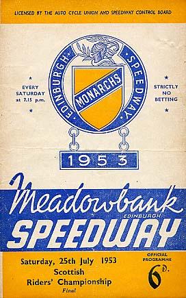 1953 programme